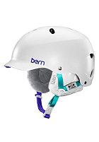 BERN Womens Lenox EPS w/ Cordova Liner Helmet satin white