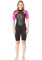 BILLABONG 2x2 launch ss spring black/hotpink