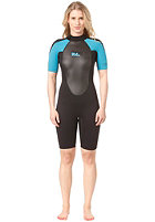 BILLABONG 2x2 launch ss spring blk/turquoise