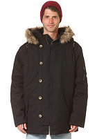 BILLABONG Big Lake Canvas Coat black