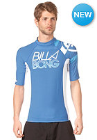 BILLABONG Blaze S/S Lycra Top campus blue