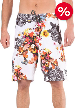 BILLABONG Blooming Death Boardshorts white