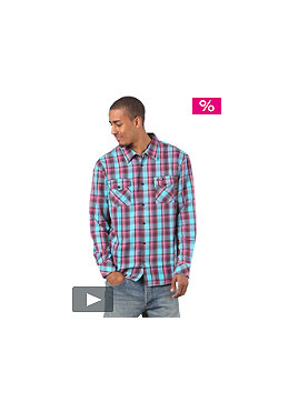 BILLABONG Cornel L/S Shirt 2012 burgundy