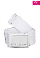 BILLABONG Corporate Belt 2013 white