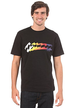 BILLABONG Down the line S/S T-Shirt black