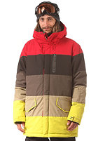 BILLABONG Downy Snow Jacket red