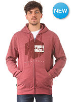 BILLABONG Drip Drop Hooded Zip Sweat blood