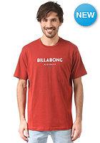 BILLABONG Flashback S/S T-Shirt red orange