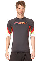 BILLABONG Flux S/S Lycra Top black