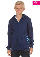 BILLABONG Kids/ Boys Density Zip Hooded Sweat 2013 estate blue