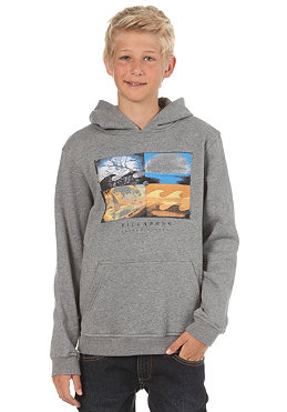 BILLABONG Kids/ Boys Quatro Hooded Sweat 2013 grey heather