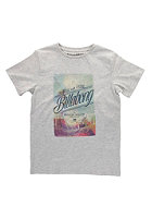 BILLABONG Kids Burn Out S/S T-Shirt grey heather