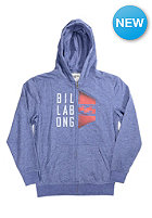 BILLABONG Kids Conned Hooded Zip Sweat indigo