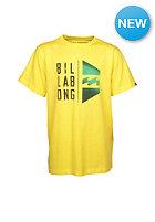 BILLABONG Kids Conned S/S T-Shirt lemon
