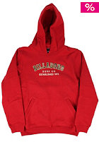 Kids King Hooded Sweat red