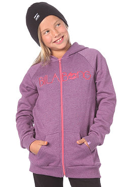 BILLABONG KIDS/ Nardell Hooded Zip Sweat 2012 violet heather