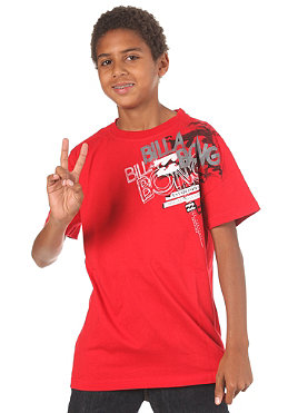 BILLABONG KIDS/ Scoop S/S T-Shirt red fire