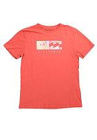 BILLABONG Kids Split Wave S/S T-Shirt cardinal