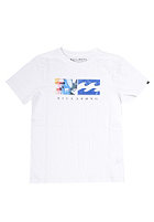 BILLABONG Kids Split Wave S/S T-Shirt white