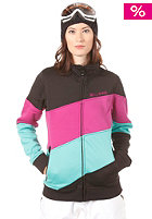 BILLABONG Lips Layer Zip Sweat black