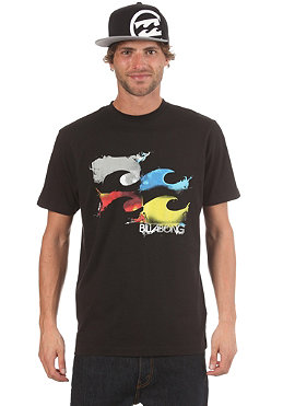 BILLABONG Making Waves S/S T-Shirt black