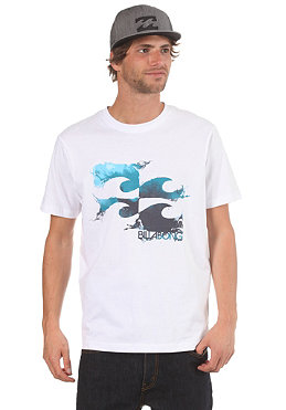 BILLABONG Making Waves S/S T-Shirt white