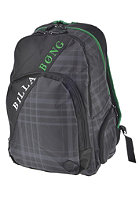 BILLABONG Mission Backpack black plaid