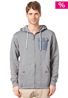 BILLABONG Mutiny Hooded Zip Sweat smoke grey marb