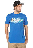 BILLABONG Neon Strikethrough S/S T-Shirt campus blue