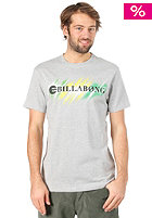 BILLABONG Neon Strikethrough S/S T-Shirt grey heather