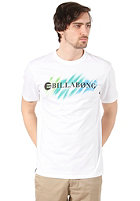 BILLABONG Neon Strikethrough S/S T-Shirt white