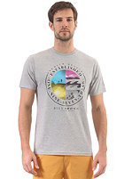 BILLABONG New Time S/S T-Shirt grey heather