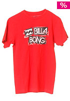 BILLABONG Oversight S/S T-Shirt red fire