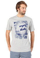 BILLABONG Plasma S/S T-Shirt grey heather