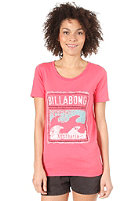 BILLABONG Shiny S/S T-Shirt corail
