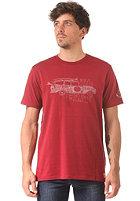 BILLABONG Snap S/S T-Shirt blood