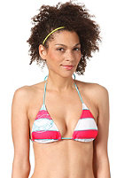 BILLABONG Stripy Triangle Bikini Top hibiscus