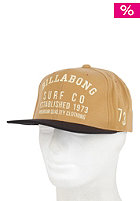 BILLABONG Surf Co Snapback Cap workly brown