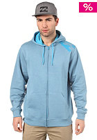 BILLABONG Transparent Hooded Zip Sweat 2012 blue heather