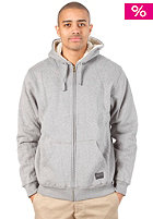 BILLABONG Typhoon Sherpa Hooded Zipper grey heather