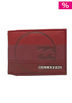 BILLABONG Union Wallet merlot