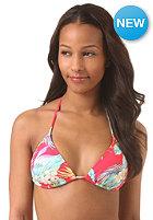 BILLABONG Womens Aloha Yo Triangle Bikini Top red hot