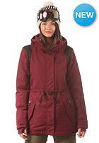 BILLABONG Womens Anderson Snow Jacket black cherry