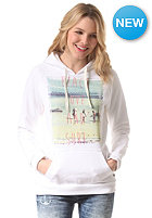 BILLABONG Womens Beach and Love Hooded Sweat white