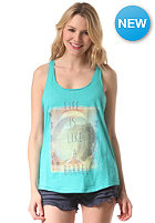 BILLABONG Womens Beach & Love Tank Top aquarius