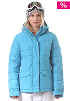 BILLABONG Womens Belle Down Snow Jacket bubble blue