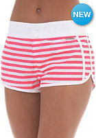 Womens Cacy 19 Boardshort red hot stripes