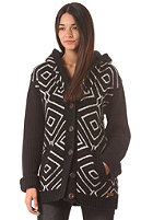 BILLABONG Womens Carla Sweat Knit Cardigan off black