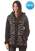 BILLABONG Womens Carla Sweat Knit Cardigan off black