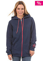 BILLABONG Womens Coli Hooded Zip Sweat denim blue